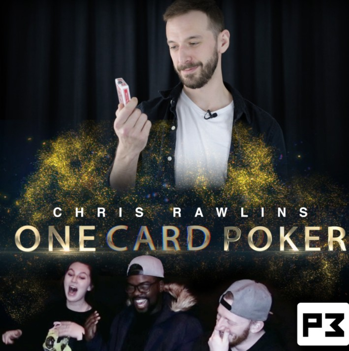 One Card Poker by Chris Rawlins