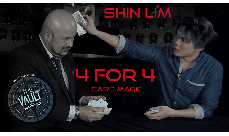 The Vault - 4 for 4 by Shin Lim - video DOWNLOAD