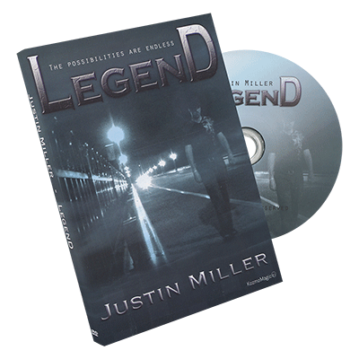 Legend by Justin Miller and Kozmomagic - DVD download