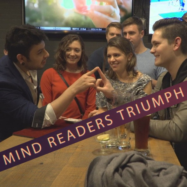 Mind Readers Triumph by Luis Carreon