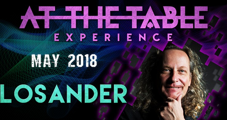At the Table Live Lecture starring Losander May 2nd, 2018 Video Download