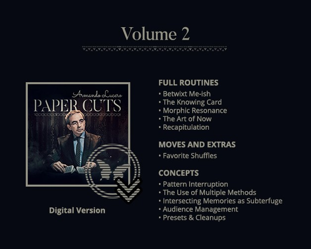 Paper Cuts by Armando Lucero Vol 2 video download