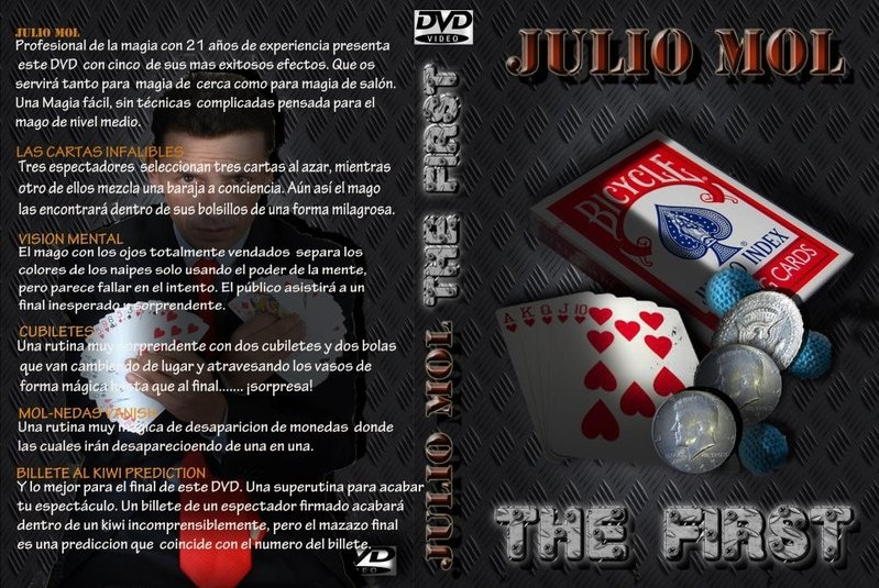 The First by Julio Mol (DVD Download, ISO File)