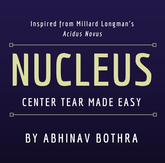 NUCLEUS: Center-Tear Made Easy by Abhinav Bothra (PDF + video)