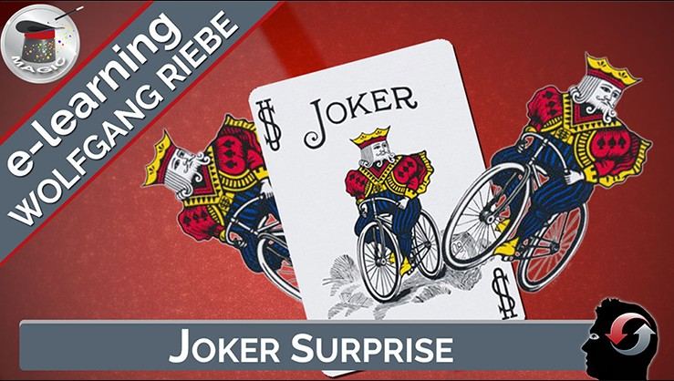 Joker Surprise by Wolfgang Riebe (video download)