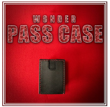 Wonder Pass Case by King Of Magic (video download)