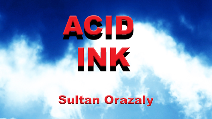 Acid Ink by Sultan Orazaly (video download)