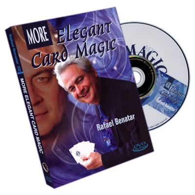 More Elegant Card Magic by Rafael Benatar (DVD download)