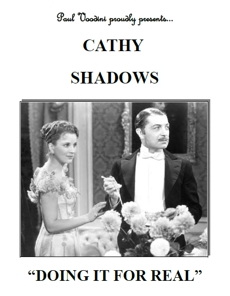 Cathy Shadows: Doing it for Real! by Paul Voodini (PDF Ebook Download)