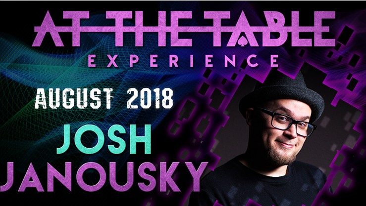 At the Table Live Lecture starring Josh Janousky 2018