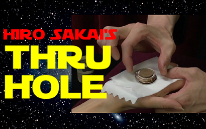 THRU HOLE by Hiro Sakai (video download)
