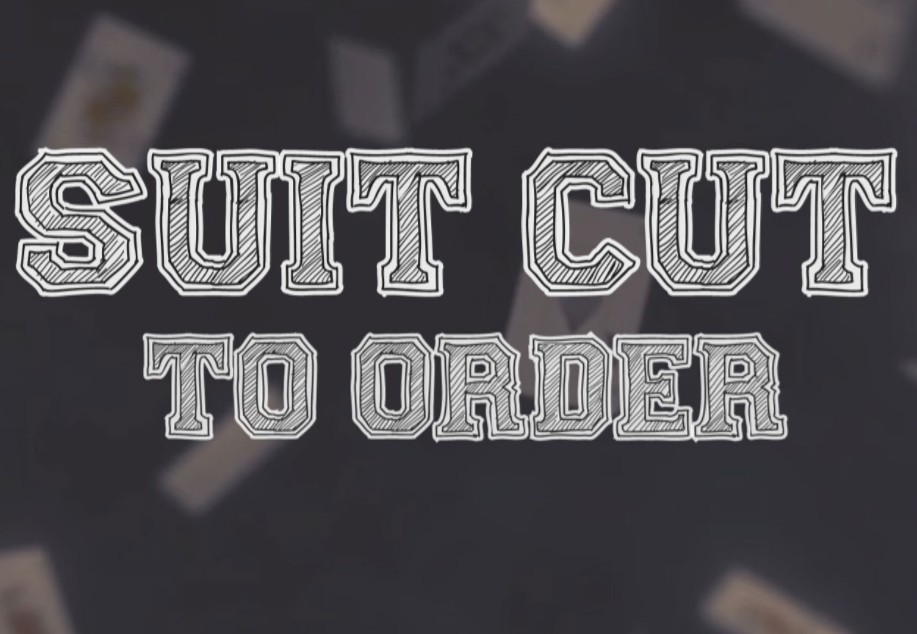 Suit Cut to Order by Erik Tait (Video Download)
