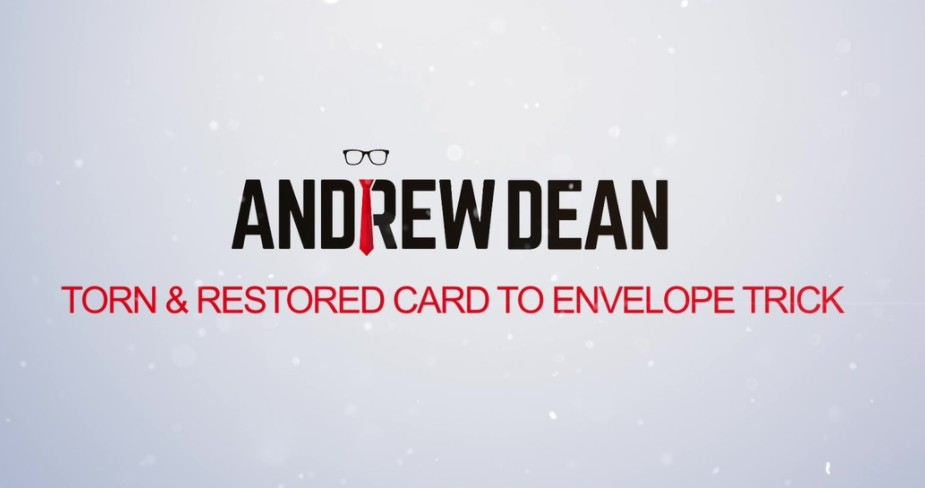 Spectator Torn and Restored to Envelope by Andrew Dean (Video Download)