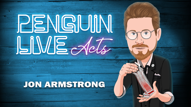 Jon Armstrong Penguin Live - LIVE ACT 2018
