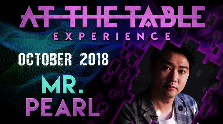 At the Table Live Lecture starring Mr. Pearl 2018