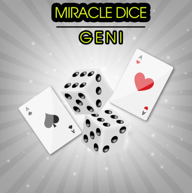 Miracle Dice by Geni (Video Download)