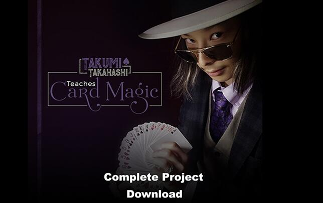 Takumi Takahashi Teaches Card Magic (Complete Project) (Video Download)