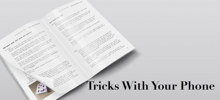 Tricks With Your Phone by Marc Kerstein PDF