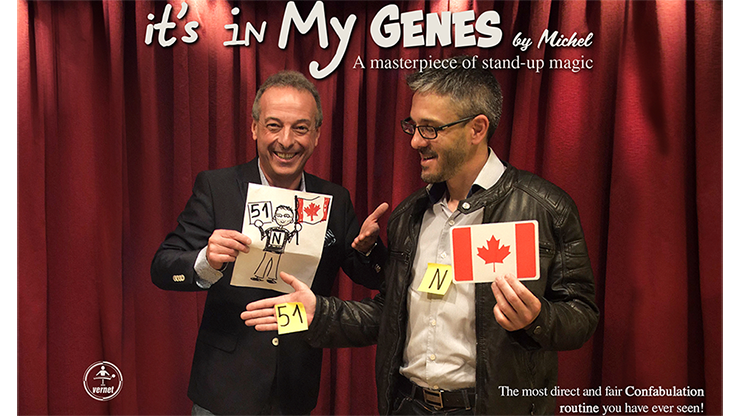 It's in My Genes by Michel (Video + PDF + Print Files) - English Version
