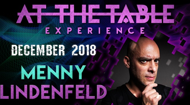 At the Table Live Lecture starring Menny Lindenfeld December 19, 2018