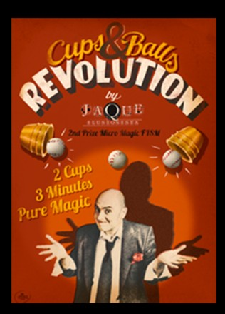 The Cups and Balls Revolution by Jaque (Video Download)
