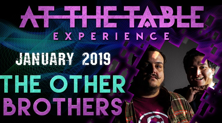 At the Table Live Lecture starring The Other Brothers 2019