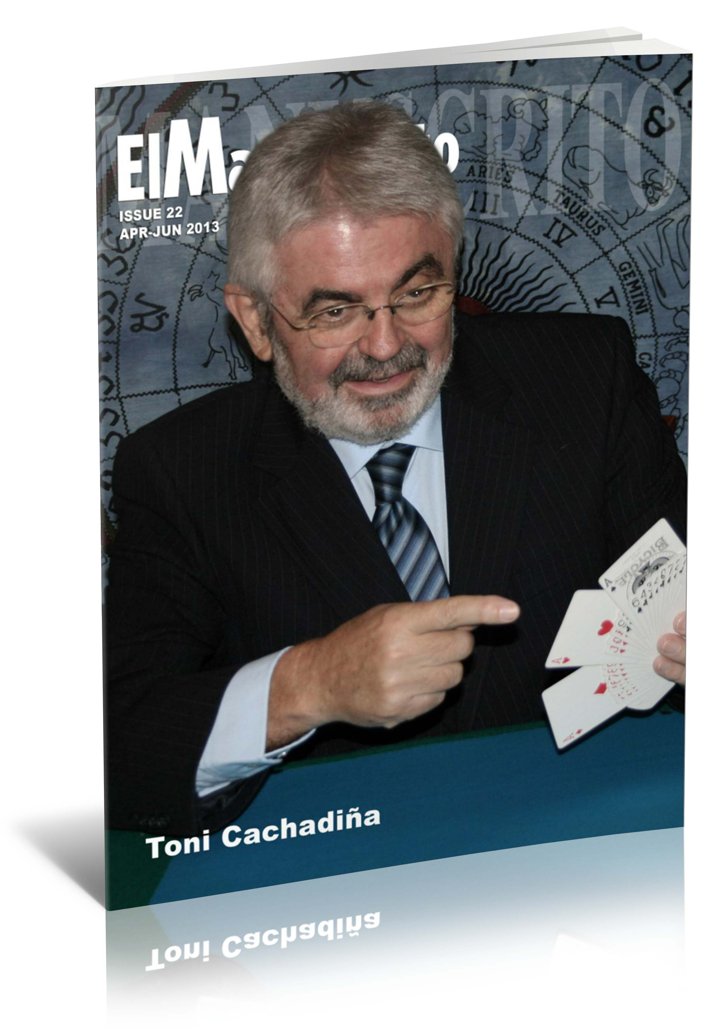 El Manuscrito 22 - Toni Cachadiña (English)