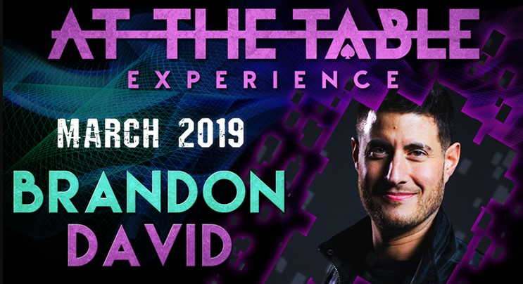 At the Table Live Lecture starring Brandon David 2019