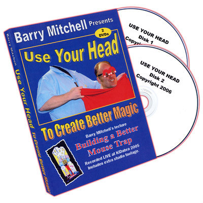 Barry Mitchell - Use Your Head To Create Better Magic (DVD Download, the best quality)