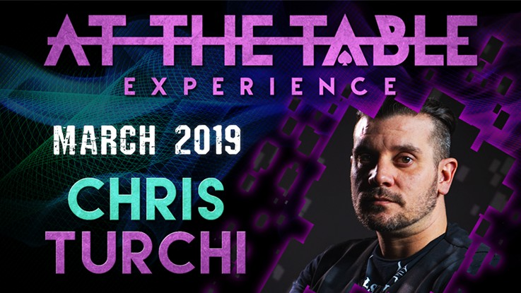 At the Table Live Lecture starring Chris Turchi 2019