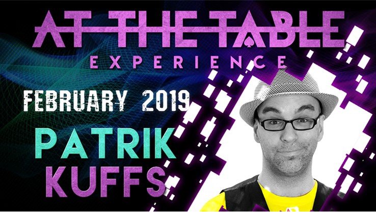 At the Table Live Lecture starring Patrik kuffs 2019