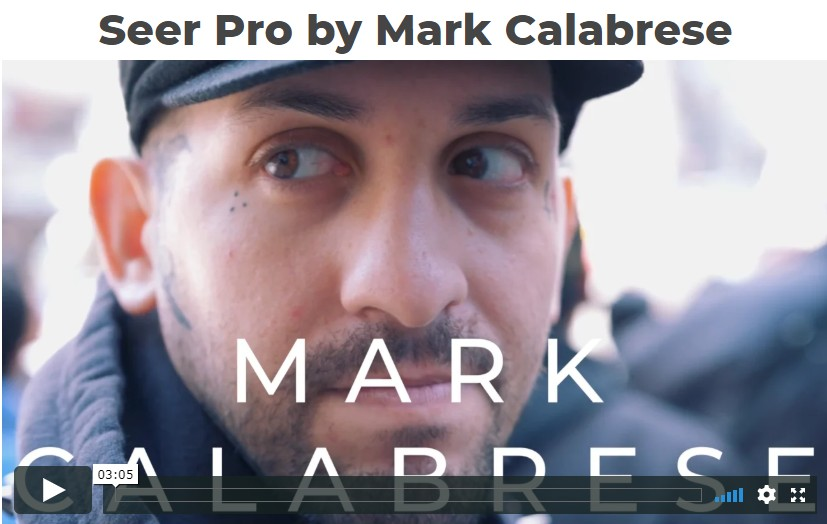 Seer Pro by Mark Calabrese (Video Download)