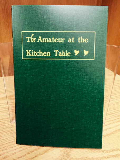 The Jerx - The Amateur at the Kitchen Table (PDF Download)