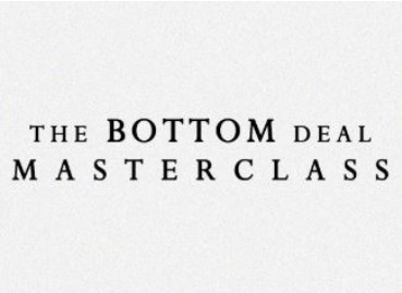 The Bottom Deal Masterclass by Daniel Madison (Video Download High Quality)