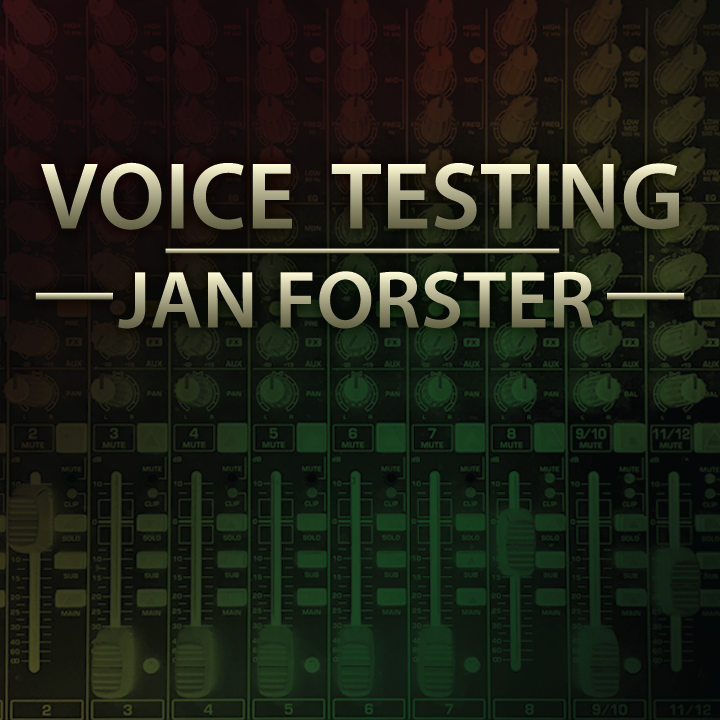 Voice Testing by Jan Forster (MP4 Video Download High Quality)