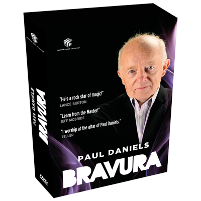 Bravura by Paul Daniels and Luis de Matos (Original DVD Download 4 Vols)