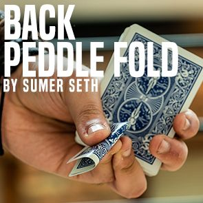 Back Peddle Fold by Sumer Seth (Video Download)