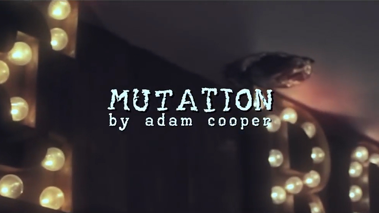 Mutation by Adam Cooper (Original DVD Download, ISO file)