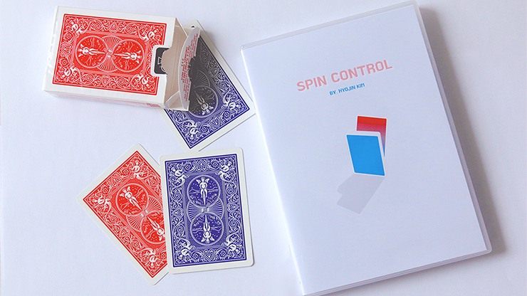 Spin Control by Hyojin Kim (Original DVD Download)
