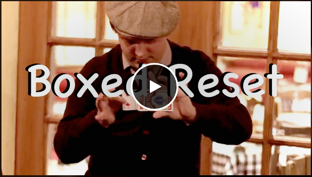 Boxed Reset By Michael O'Brien (MP4 Video Download)