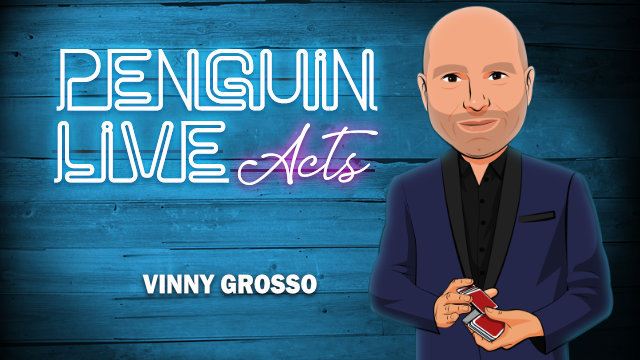 Vinny Grosso LIVE ACT (Penguin LIVE) 2019