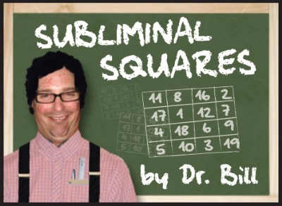 Subliminal Squares by Dr. Bill (PDF Instant Download)