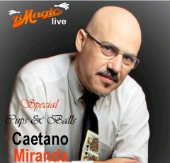 Special Cups & Balls by Caetano Miranda (Portuguese Language Only) (MP4 Video Download)