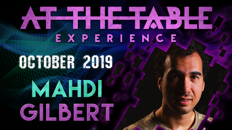 At the Table Live Lecture starring Mahdi Gilbert 2019