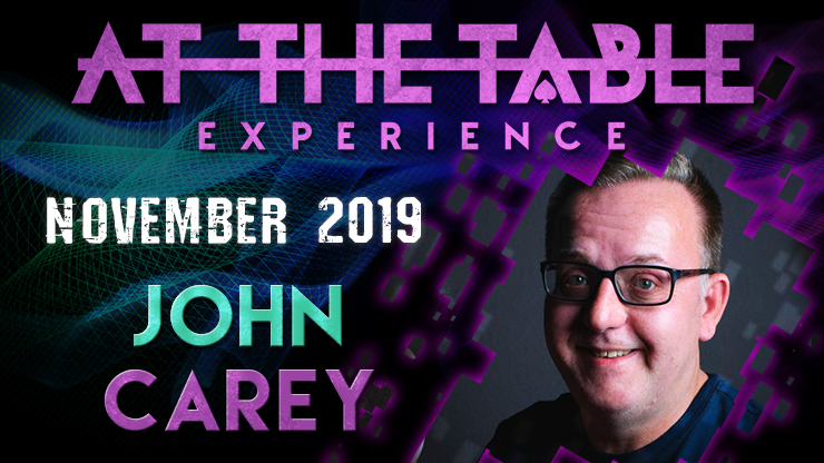 At The Table Live Lecture starring John Carey 2 2019