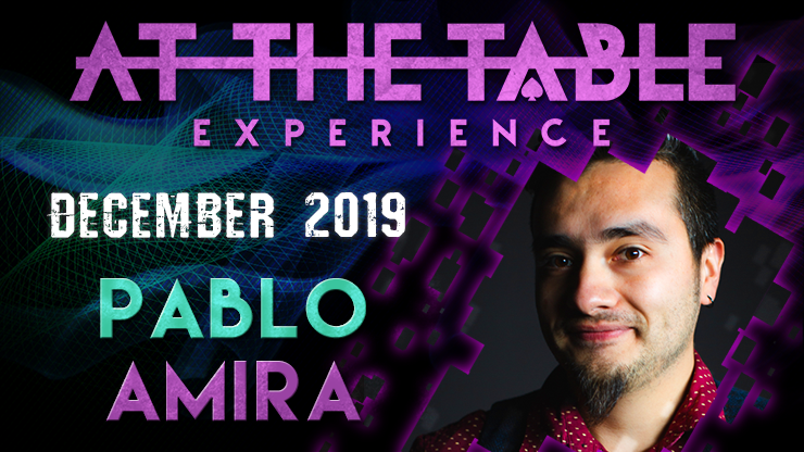At The Table Live Lecture starring Pablo Amira 2019