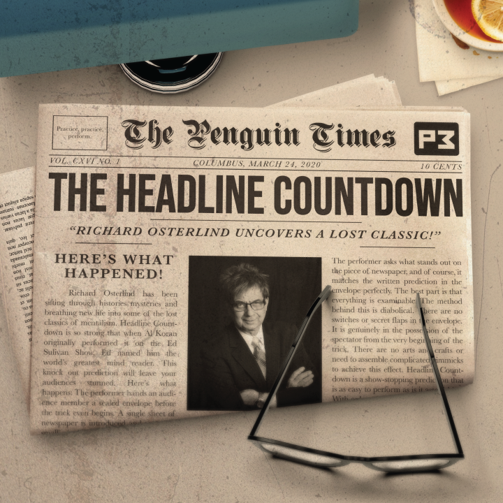 The Headline Countdown by Al Koran presented by Richard Osterlind (MP4 Video Download)