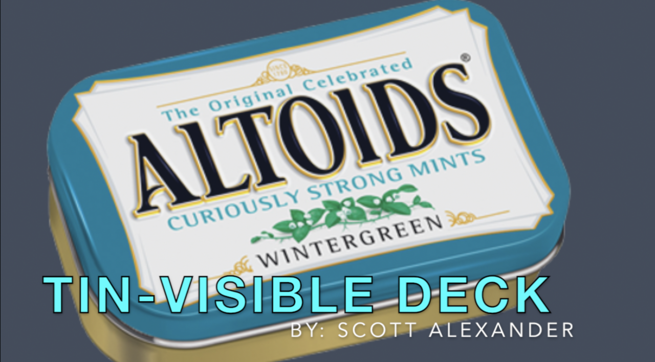 TIN-visible Deck by Scott Alexander (MP4 Video Download)