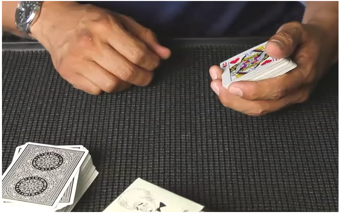 Gilbreath Principle Forcing Deck by Rudy Tinoco (MP4 Video Download)