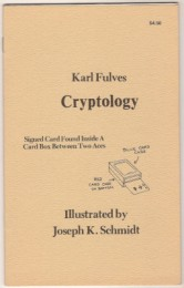 Cryptology by Karl Fulves (PDF Download)
